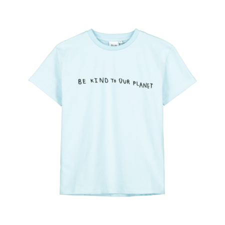 kids Beau Loves Be Kind To Our Planet T-Shirt - Blue