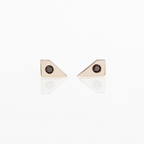 TARA 4779 Void Earrings No. 2 - Gold
