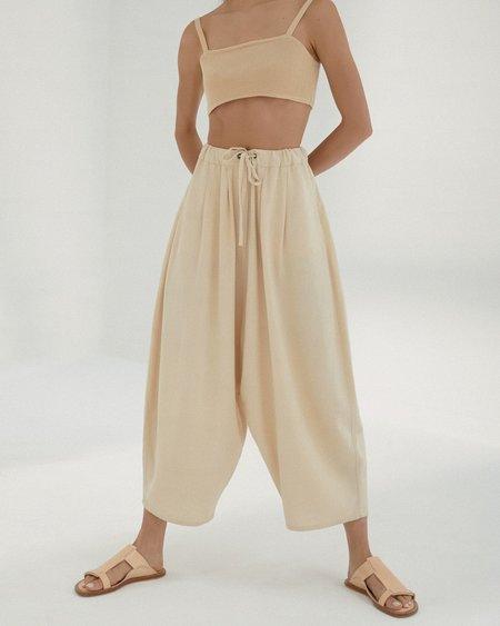 Mónica Cordera Maxi Linen Pants