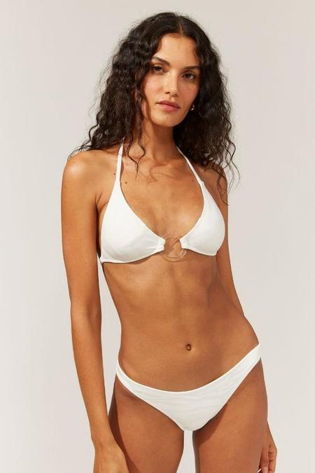 Solid & Striped Sadie Triangle Top - Marshmallow Wave