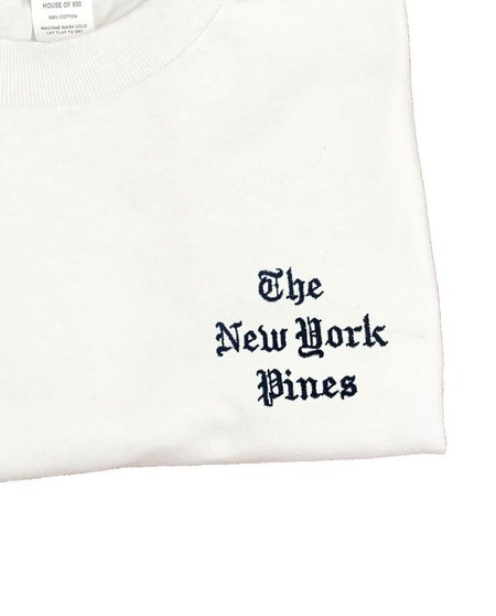 House of 950 The New York Pines embroidery tee