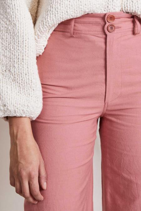 Apiece Apart Merida Pant - Clay