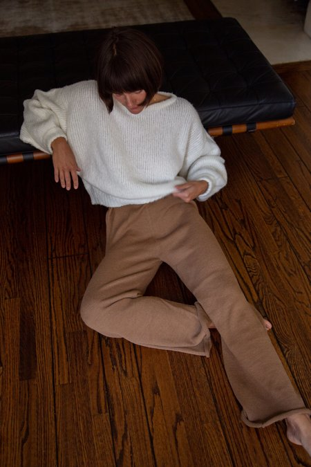 Wol Hide Straight Pant - Fawn