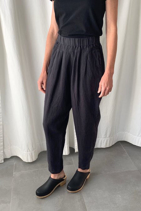 Black Crane Carpenter Pants - Black