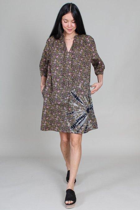 Raquel Allegra Harmony Dress - Black Floral