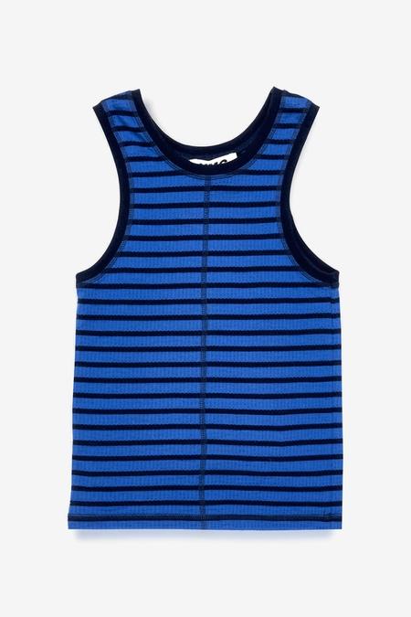 You Must Create Dot Vest - Navy Blue
