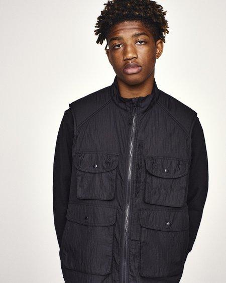 Pop Trading Company Safari Vest - Black