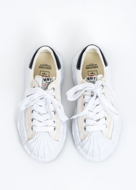 Mihara Yasuhiro Original STC Sole Canvas Lowcut Sneaker - White