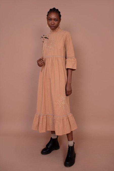 Meadows Calla Dress - Mushroom