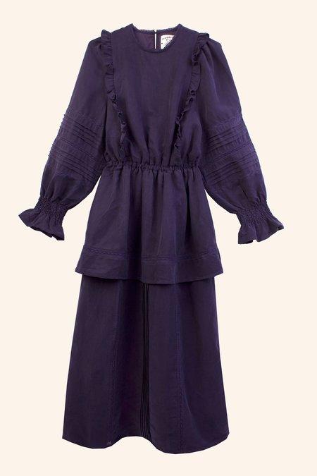 Meadows Ione Dress - Navy