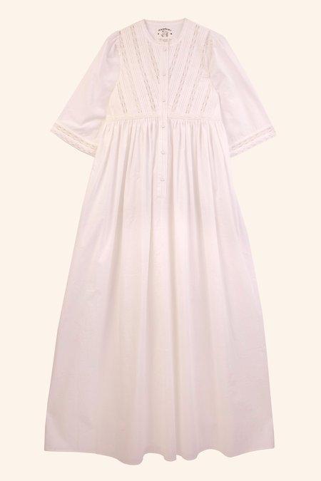 Meadows Thistle Dress - White
