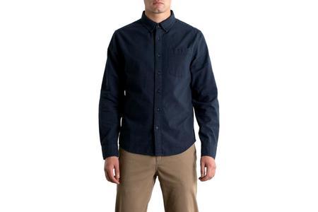 Bridge & Burn Sutton Shirt - Navy Dobby