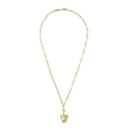 Machete Pearl + Petite Paperclip Chain Pendant Necklace