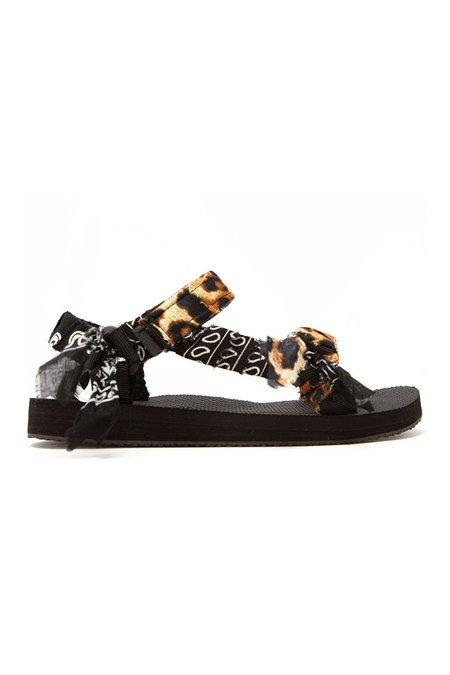 Arizona Love Trekky Leo Bandana sandals - Leo/Black