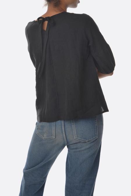 Lotte99 Elizabeth Linen Shirt - Black
