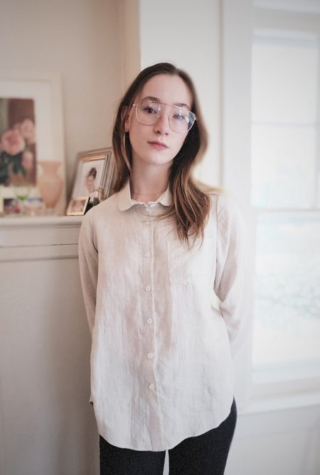 Petria Lenehan Kilkenny Shirt - Natural