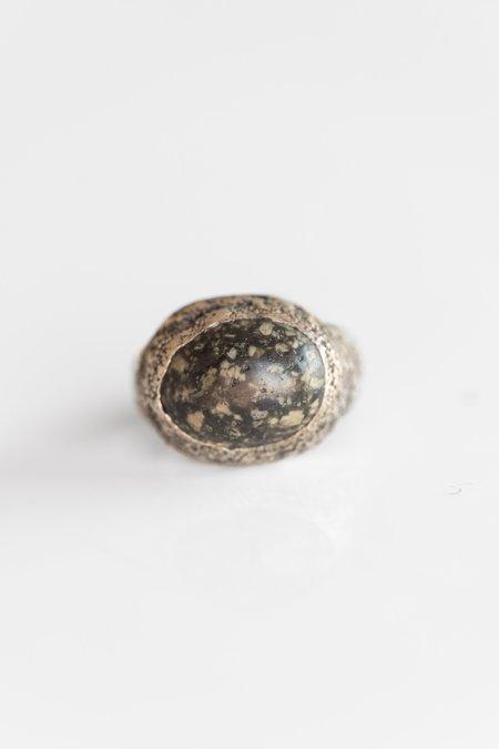 Lou Zeldis Sterling River Stone Ring