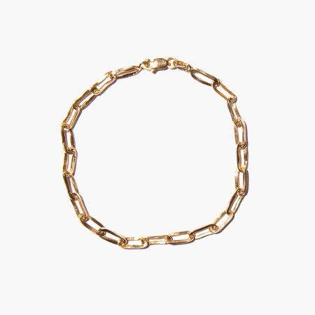 Kindred Black Boothby Link Bracelet - 14k gold