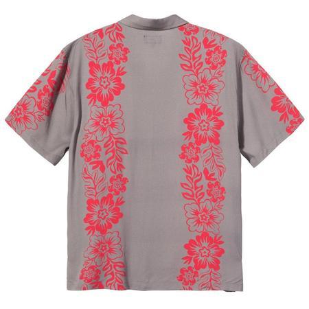 Stussy Hawaiian Pattern Shirt - Grey