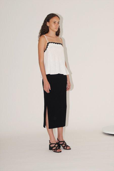 Diarte Roman knit skirt - black