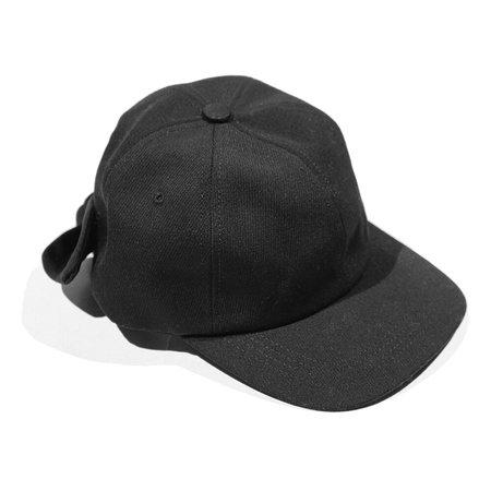 Clyde Tie Baseball Hat - Black Wool