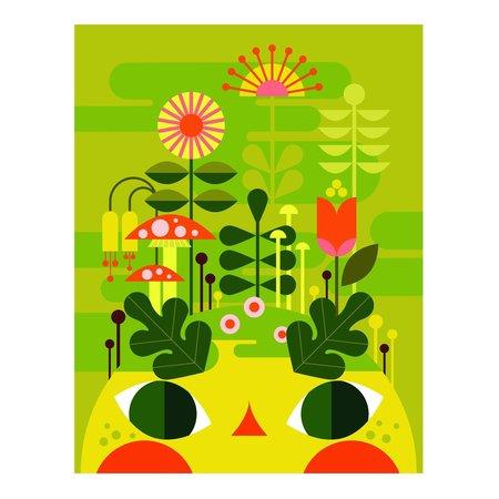 Patrick Hruby Framed Garden Sprite