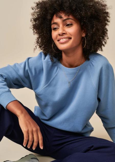 Bellerose Marty Sweatshirt - Hortensia Blue
