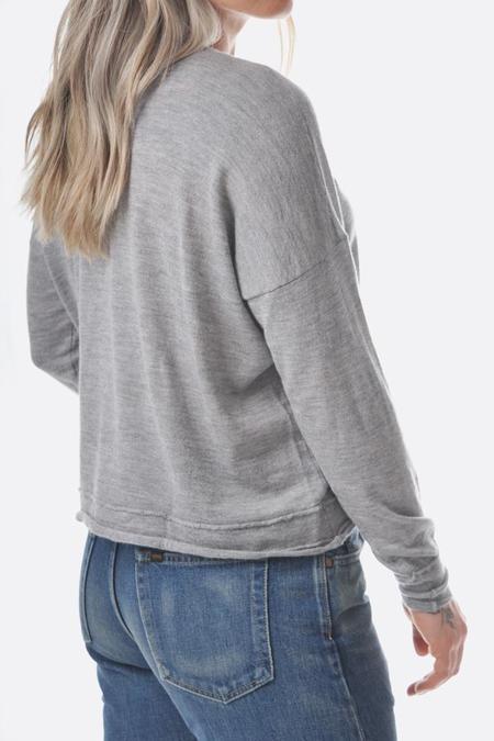 MJ Watson cashmere V Neck pullover - Grey