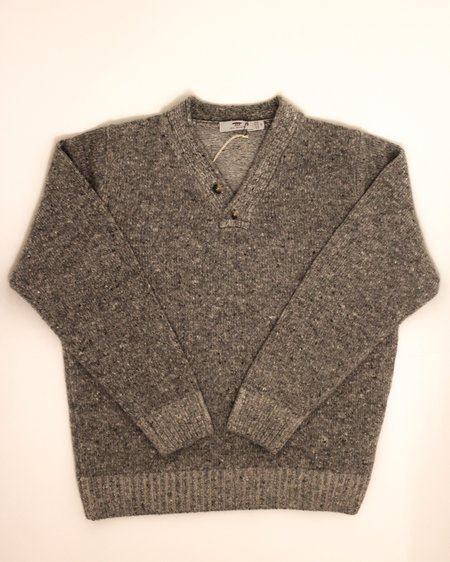 Inis Meáin Plated Hurler Sweater