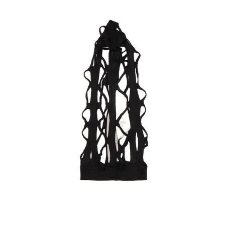 RICK OWENS Net beret - Black