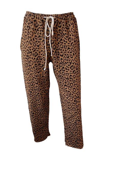 Emerson Fry Drawstring Pant - Leopard