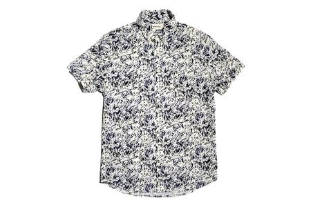 Taylor Stitch Short Sleeve Jack Shirt - Whitewater