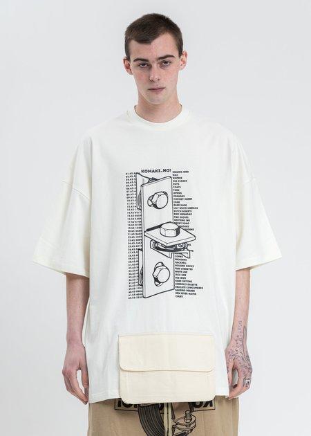 Komakino T-Bracket T-Shirt - White