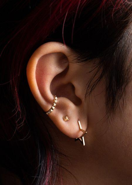 Futaba Hayashi Debbie ear cuff - Gold
