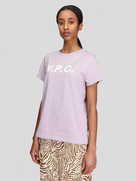 A.P.C. T-Shirt VPC - Parme
