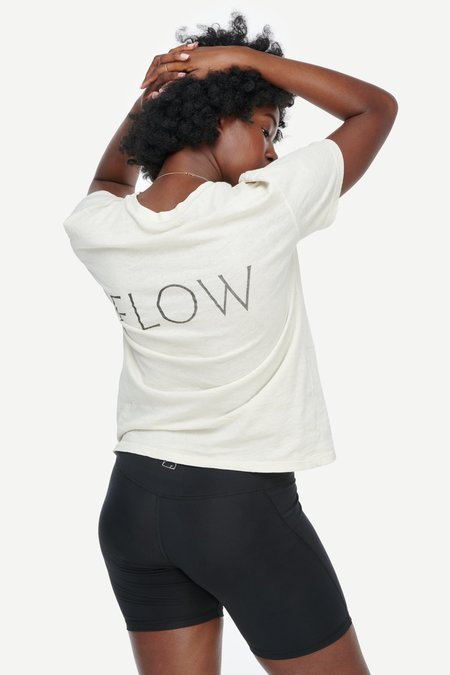 Lacausa Limited Edition FLOW Vintage Tee - Moon