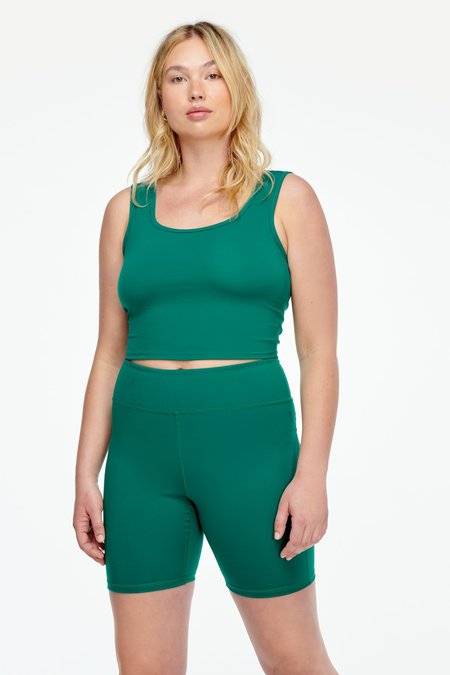 Lacausa Warm Up Shorts - Spruce