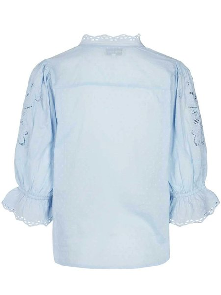 Lolly's Laundry Charlie Blouse - Light Blue