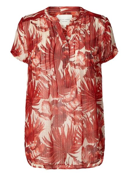 Lolly's Laundry Heather Top - Red