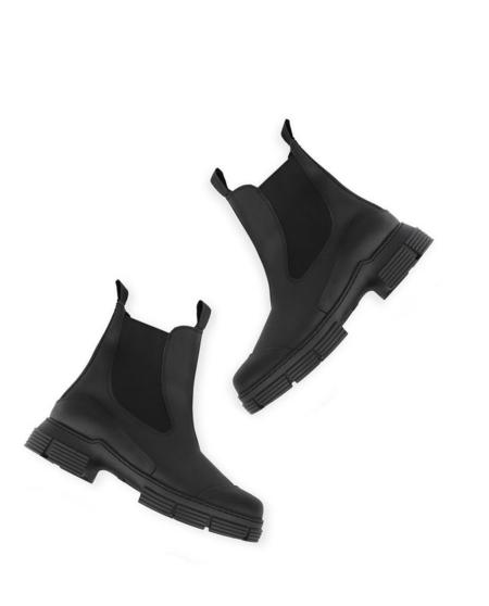 Ganni City Boot-Black