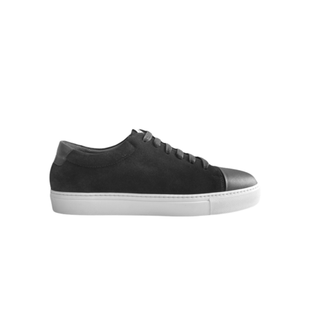 National Standard Sneakers Edition 3 Low Leather Sneakers - Black Suede