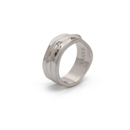 Rahya Jewelry Design Fragment Ring - Silver