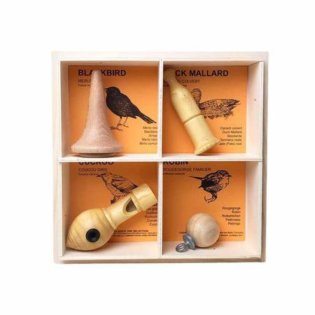 quelle est belle four nests bird call set