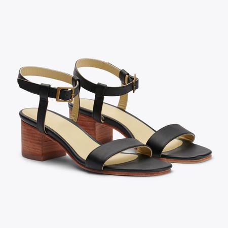 Nisolo Lucia Block Heel Sandal - Black