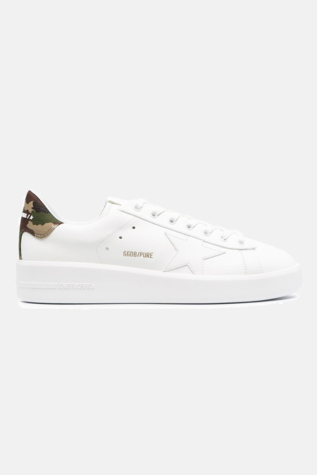 Golden Goose Pure Leather Shoes - White