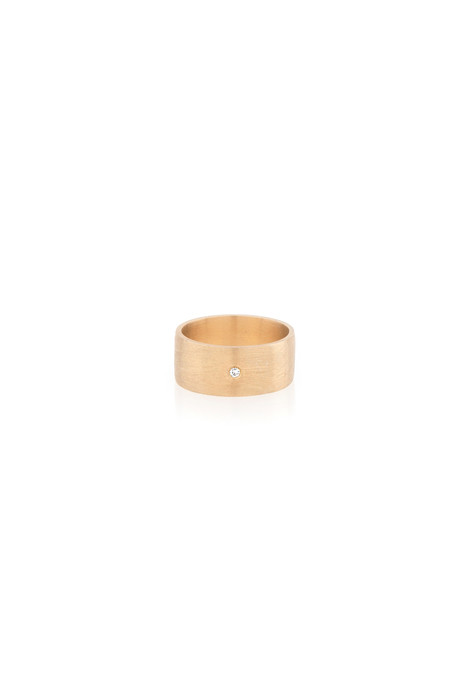 Eikosi Dyo Wide Band Ring