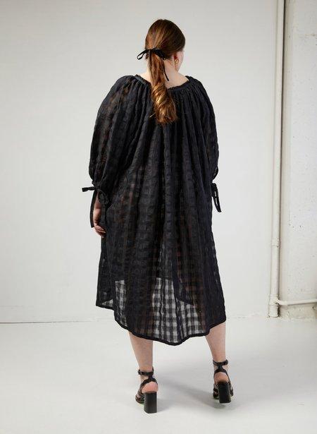 Eliza Faulkner Madlyn Dress - Black Gingham