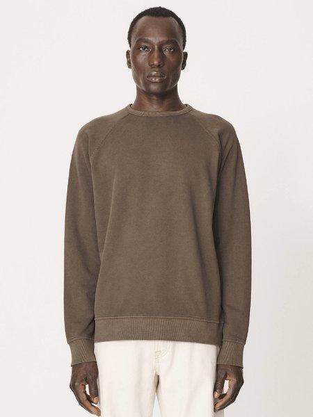 YMC Schrank Raglan Sweatshirt - Dark Olive