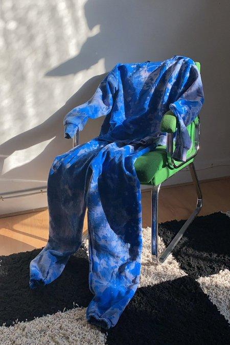 WOLF & GYPSY VINTAGE Tie Dye Joggers - Cosmic Blue