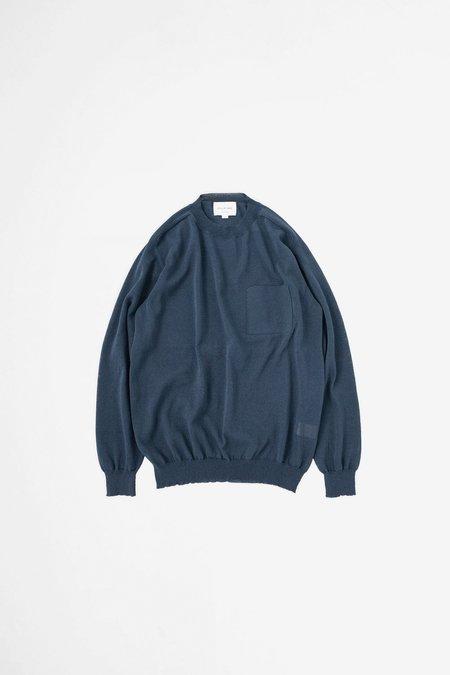 Still By Hand Paper blend sweater - navy